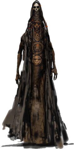 Possible female haunt character Fantasy Rpg, Medieval Fantasy, Fantasy World, Dark Fantasy, Cthulhu, Character Concept, Character Art, Concept Art, Dnd Characters