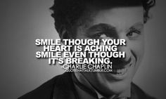 a smile is a mask every one put on to disguise themselves from the world