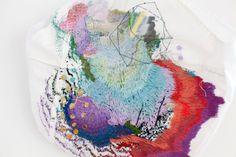 Arimoto Yumiko embroidery