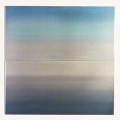 "Miya Ando ""Ocean sutra2"" hand dyed metal"