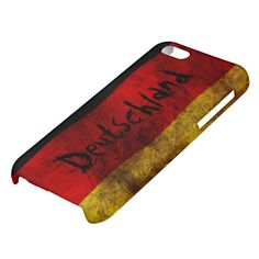 #German #Flag - #Vintage #iPhone 5C #Cover by #pASob on #zazzle