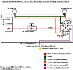 Images oex relay wiring diagram oex glow plug timer wiring jeep xj brighten your lights installing headlight relays jeepfan cheapraybanclubmaster Gallery