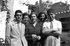 Galería de fotos. María Moliner con sus hijos. #MariaMoliner