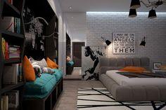 Oryginalny pokój dla nastolatka 7
