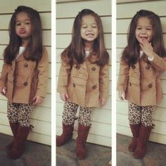 This little girl & outfit is too cute