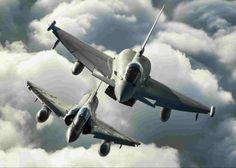 EF2000+Mirage 2000