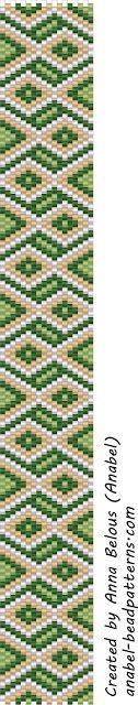free beading patterns beadwork peyote bracelets  (Russian)