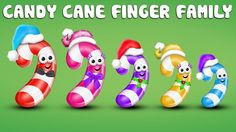 The Finger Family Candy Cane Family Nursery Rhyme Finger Rhymes, Finger Song, Finger Family Song, Family Songs, Sister Finger, Mommy Finger, Baby Finger, Abc Songs, Kids Songs