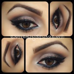 Brown Eye Makeup Ideas