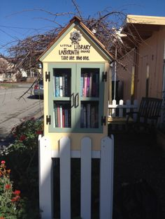 Little Free Library at 5024 Garnet  Street, Capitola, CA