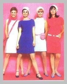 Style vestimentaire en 1960