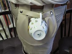 Tea Cup Holster | The Iron Tailor