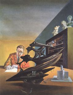 Painting by Salvador Dali, 1930