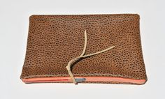 Animal print clutch by FloatingChairs
