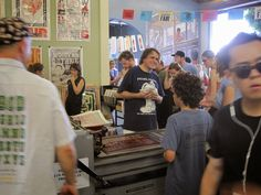Behind the Scenes at Stuart Ng Books: LOS ANGELES PRINTERS FAIR 2014