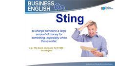' Sting ' - vocabulary - BUSINESS ENGLISH