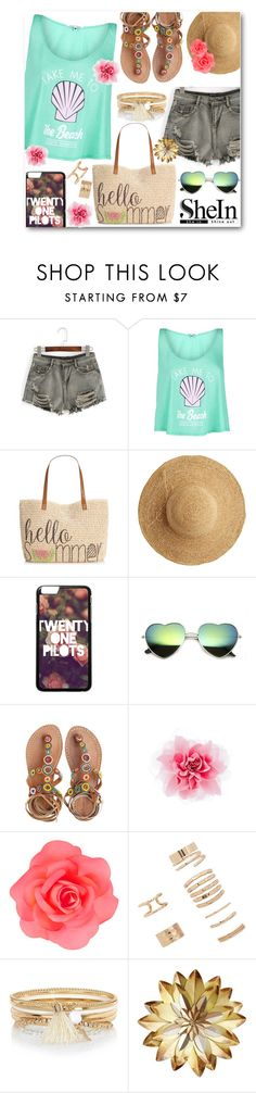 """""""Flower....Power! #2"""" by kpopmember ❤ liked on Polyvore featuring WithChic, Wildfox, Style & Co., Flora Bella, Laidback London, Accessorize, Forever 21 and River Island"""