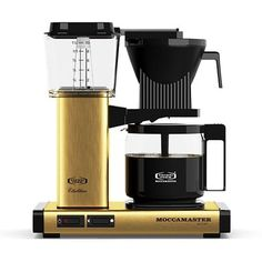 Moccamaster Moccamaster KBG Pour-Over Coffee Brewer Color: Brick Red Pod Coffee Makers, Best Coffee Maker, Drip Coffee Maker, Coffee Brewer, Coffee Cups, Coffee Percolator, Pour Over Coffee, Cafetiere, Design Blog