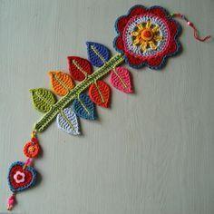 Entre Hilos y Puntadas: Viste de primavera tu casa con crochet