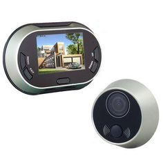 3.5 inch Doorbell Peephole Viewer Door Bell Video Recording Auto Take Photos Home Security Camera