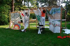 Sukkah Decoration Ideas