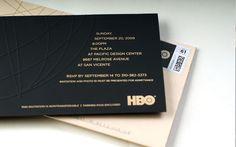 Image result for emmy award invitations
