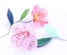 Invista pesado em flor de papoula com papel crepom para repaginar os seus espaços, para decorar lind