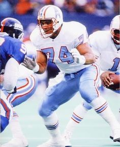 Bruce Matthews. Quite possibly the best offensive lineman in history.