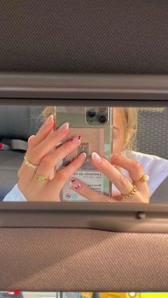 Cute Acrylic Nails, Cute Nails, Pretty Nails, Pinterest Foto, Shotting Photo, Nail Jewelry, Jewellery, Funky Nails, Minimalist Nails