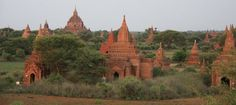 View from Minochantha, Bagan, Myanmar
