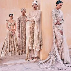 no one does gold outfits better than desi people