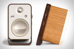"Upgrade your desktop audio experience - and likely the looks of your work area - by picking up a pair of Polk Hampden Speakers. This little system packs a big punch thanks to each of the 1"" silk/polymer tweeters and..."