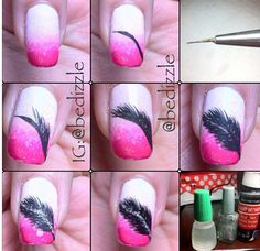 How to feathers