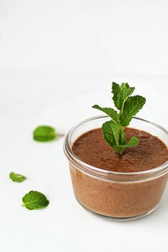 Chocolate Superfood Pudding -- the perfect treat for Earth Day (dairy-free, egg-free, gluten-free, grain-free)