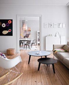 Intérieur ❤ scandinave, vintage & petites touches colorées - 13zor, graphiste & coach deco - Bruxelles