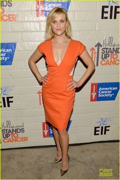 Reese Witherspoon: Hostess  for Stand Up to Cancer! |