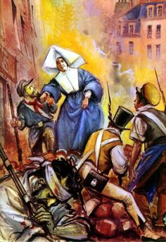 Daughters Of Charity Paris France   during one of the many crazy uprisings in france a group of rebels was ...