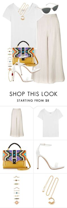 """Sin título #3862"" by hellomissapple ❤ liked on Polyvore featuring Topshop, Yves Saint Laurent, Tura, Paula Cademartori, Zara, Forever 21 and Chloé"