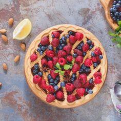 Raspberry Blueberry Pie