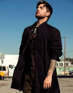 Frankie Payne styled Adam Lambert using Number 4 Hair Care for this Flaunt Magazine shoot.  Shop: http://number4hair.com/