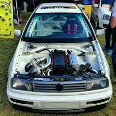 Twin turbo lateral mounted VR6!!!!!