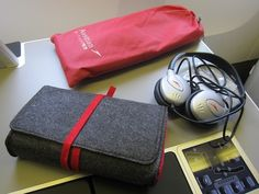 Austrian Airlines amenity kit… Fly Around The World, All Airlines, Airline Flights, Business Class, Travel Cosmetic Bags, Air Travel, Airplanes, Soaps, Sunglasses Case