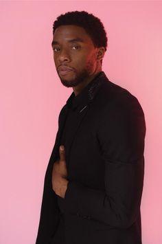 Chadwick Boseman on Black Panther and the healing power of cinema Black Boys, Black Men, Black Is Beautiful, Gorgeous Men, Black Panther Chadwick Boseman, Macho Alfa, Black Panther 2018, Marvel Actors, Marvel Xmen