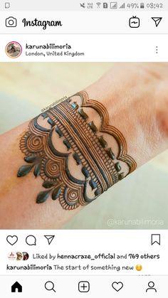 Wedding Henna Designs, Rose Mehndi Designs, Basic Mehndi Designs, Henna Art Designs, Mehndi Designs 2018, Mehndi Designs For Beginners, Mehndi Designs For Girls, Dulhan Mehndi Designs, Henna Designs Wrist