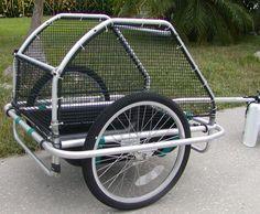 convert bike trailer to utility trailer - Google Search