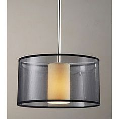 Shop for Simple Elegance Chrome/ Pendant Chandelier. Get free delivery On EVERYTHING* Overstock - Your Online Ceiling Lighting Store! Lighting Store, Home Lighting, Simple Elegance, Elegant, Pendant Chandelier, One Light, Chrome Finish, Light Fixtures, Home And Garden
