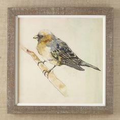Petite Bird Framed Print III #birchlane