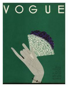 Vogue, May 1932. Illustration: Eduardo Garcia Benito.