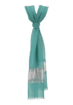 Sequin Trim Scarf available at #Maurices