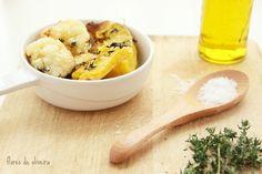 Flores de Oliveira: Legumes assados • Roasted vegetables